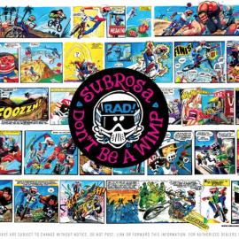 1980年代に流行ったBMXコミックのRadicalRickがアパレルになってSUBROSAから登場!!近日入荷!!