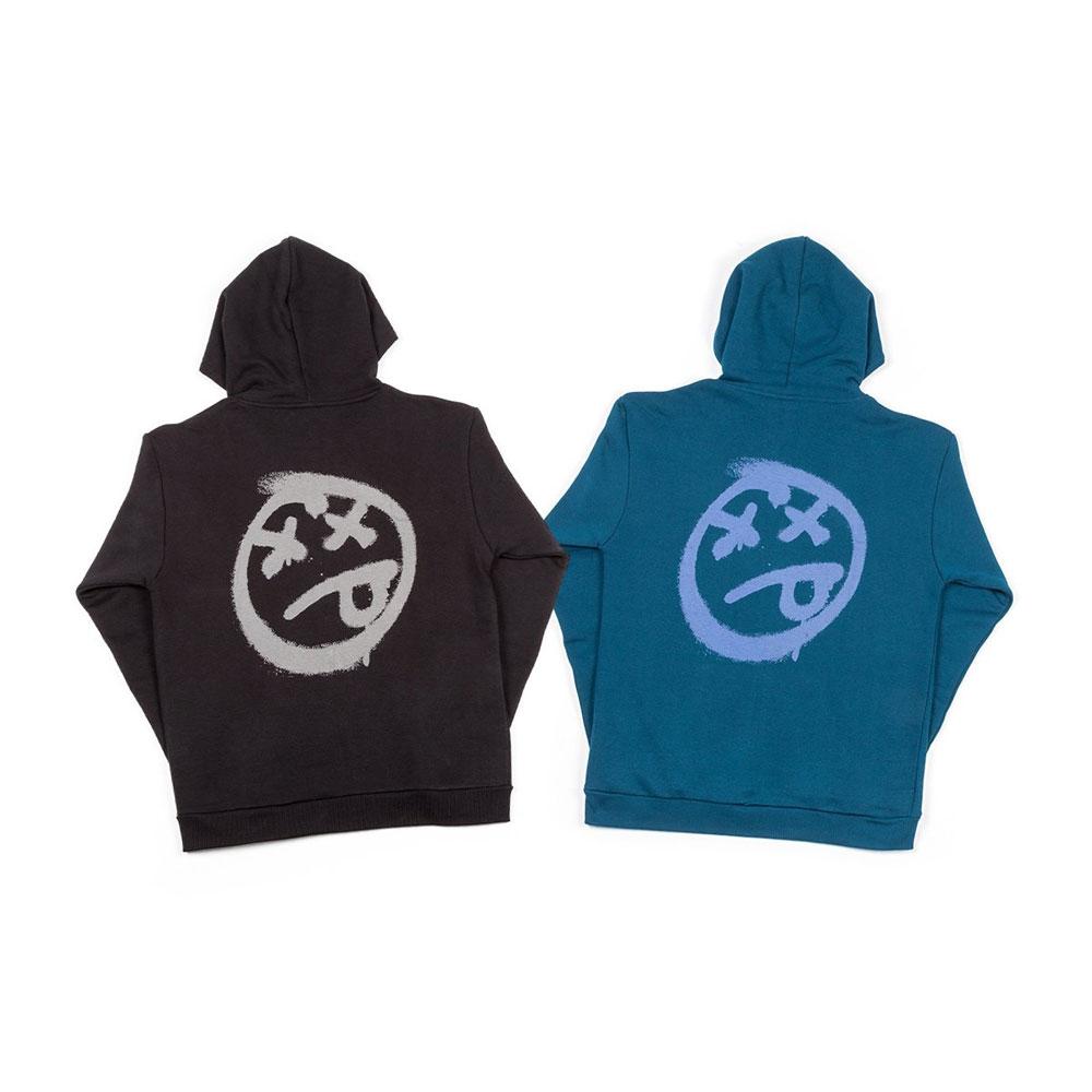 BSD-Acid-Face-zip-up-hooded-sweatshirt-all
