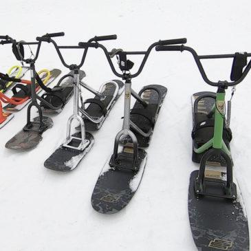 シーズン到来!! snowscoot